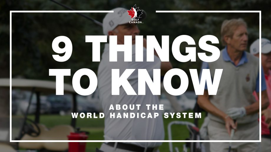9 things to know about the world handicap system